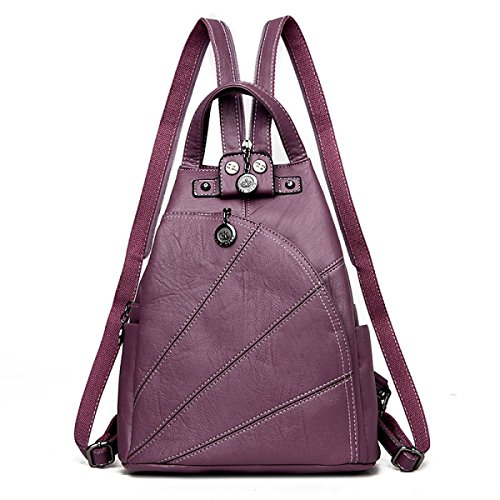 Bags Shoulder Bag Purple Women Black Elegant Vintage Bag Ladies Handbag Tote Messenger 7HnqFw