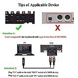 OTraki USB MIDI Cable Converter 2.0 3.0 USB