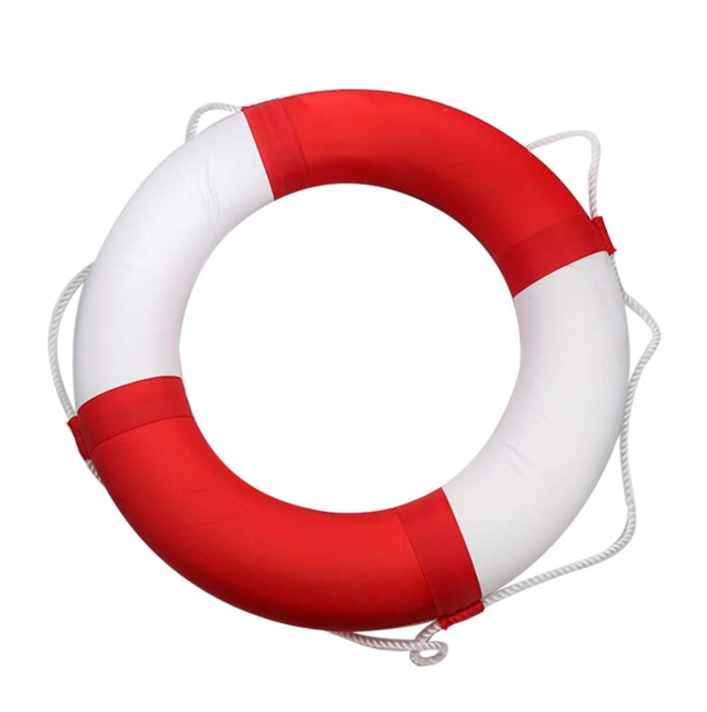 OOBY Lifebuoy Adulto Foam Cloth Lifebuoy Cosido A Mano Sin Cargo Decoración del Hogar,Red: Amazon.es: Deportes y aire libre