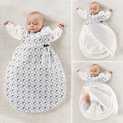 heißes Produkt gut kaufen billig werden Alvi Baby Mäxchen Original/Ganzjahres Baby-Schlafsack - 3-tlg. mit  gefüttertem Außensack und 2 Innensäcken mit Ärmeln/mitwachsend/Birnenform -  ...