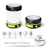 Bright-Outdoors-Solar-Camping-Lantern-Flashlight-and-Emergency-Powerbank-USB-Rechargeable-Portable-and-Collapsible-Ideal-Safety-Patio-or-LED-Night-Light-Available-in-800-or-1800-mAh-power
