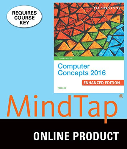 MindTap Computing, 1 term (6 months) Printed Access Card for Parsons' New Perspectives Computer Concepts 2016 Enhanced,