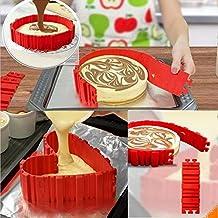 4Pcs/lot Magic Bake Snakes Grade Silicone Bake All Cakes Cake Mould Tools