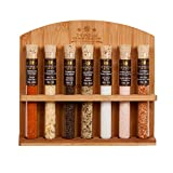 The Spice Lab Gourmet Sea Salt Sampler Collection No.2 - A collection of 7 Finishing Salts - Taste the world of Salt