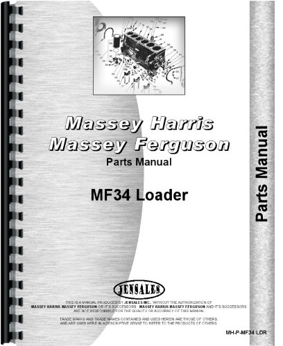 Download Massey Ferguson 34 Industrial Loader Attachment Parts Manual PDF