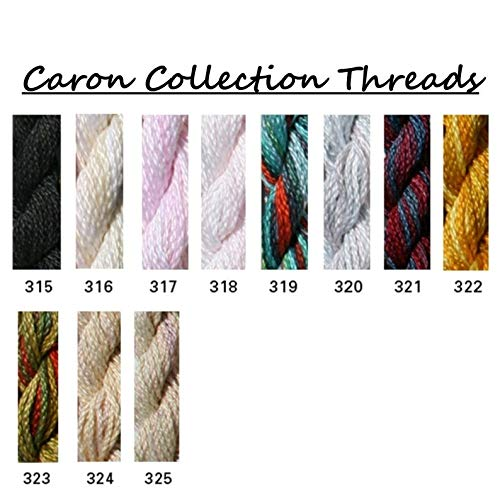 Caron Collections Wildflowers, Hand-Dyed Threads. Color #320, Arctic Frost