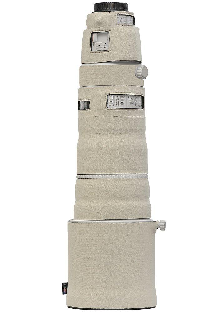 LensCoat Lens Cover for Canon 200-400 IS f4 neoprene camera lens protection sleeve (Canon White) lenscoat
