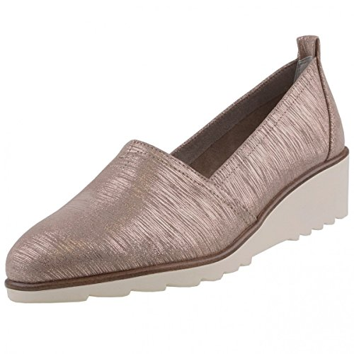 Tamaris 1-1-24614-28-336, Femme Mocassins En Bronze Brun (pepper Metal 336)