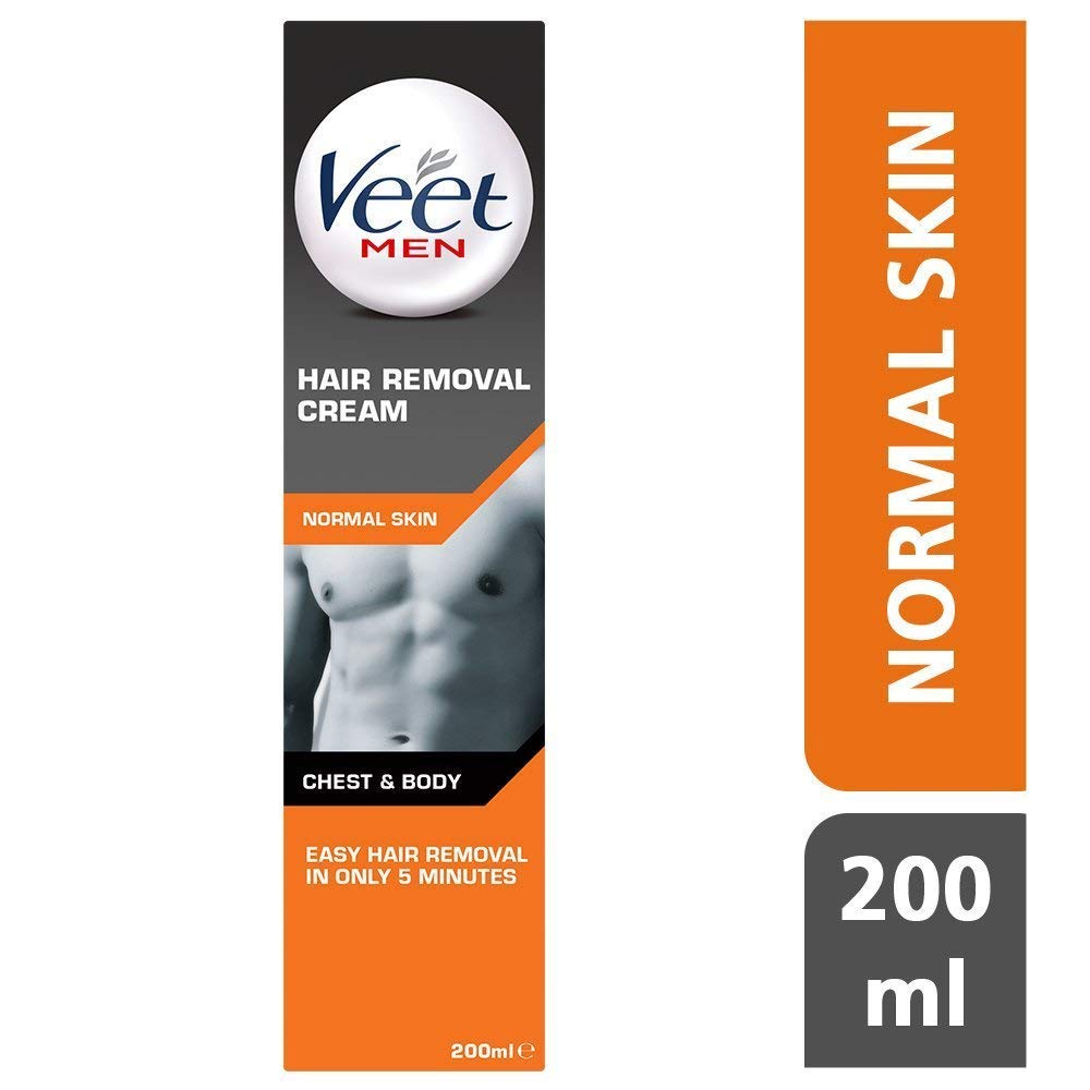 Veet Men Hair Removal Cream 200ml Pack Of 3 by Veet
