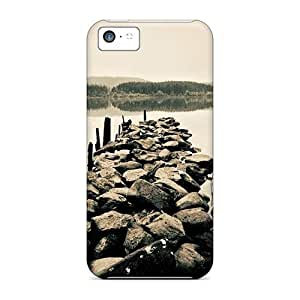 88caseme Hmx40041hXCK Cases Covers Skin For Iphone 5c (place Fishing)