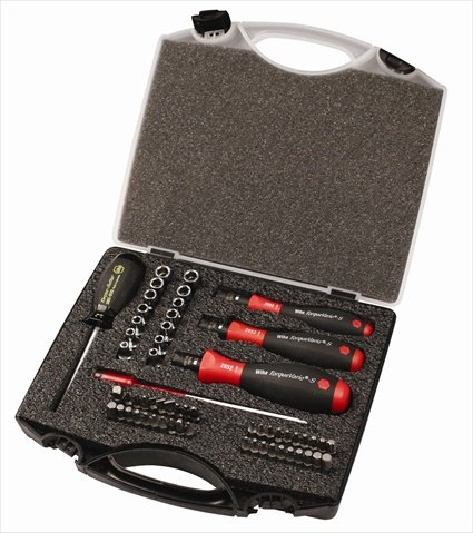 Wiha Tools 28589 Torque Control Bit Set - 59 Piece by Wiha Tools USA