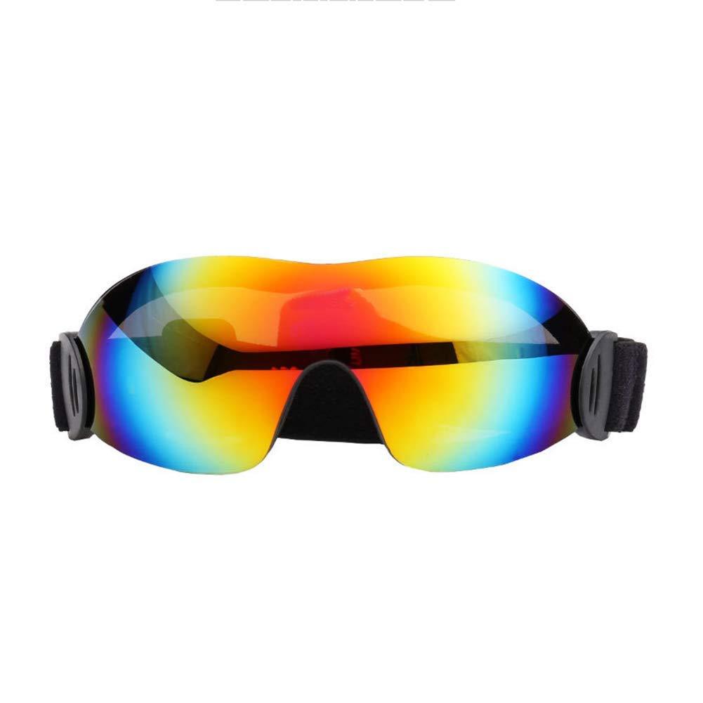 Giow Ski Snowboard Schneebrille Lens Spherical Design Anti-Nebel-UV-Schutz-Anti-Rutsch-Strap für Männer Frauen