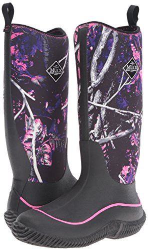 Muck Boot Women's Hale Snow Boot, Black/Muddy Girl Camo, 7 M US by Muck Boot (Image #6)