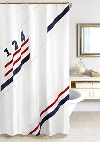 Homewear 75055-SHWR Set Sail Shower Curtain, 70