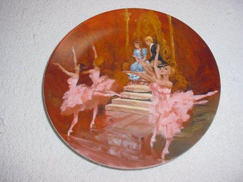 Nutcracker Ballet Plate Waltz of the Flowers