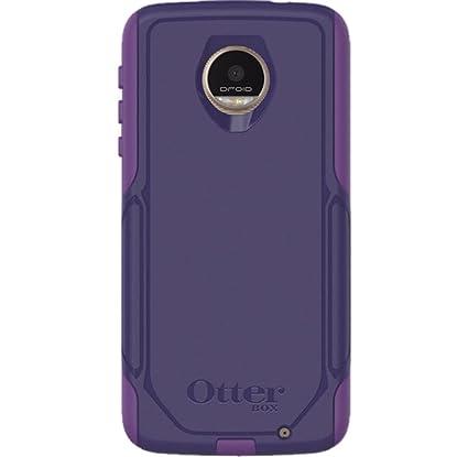super popular 721fb af2a2 OtterBox Motorola Moto Z Droid Commuter - HopeLine Purple