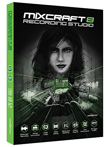 Mixcraft 8 Recording Studio Windows ACTA-882