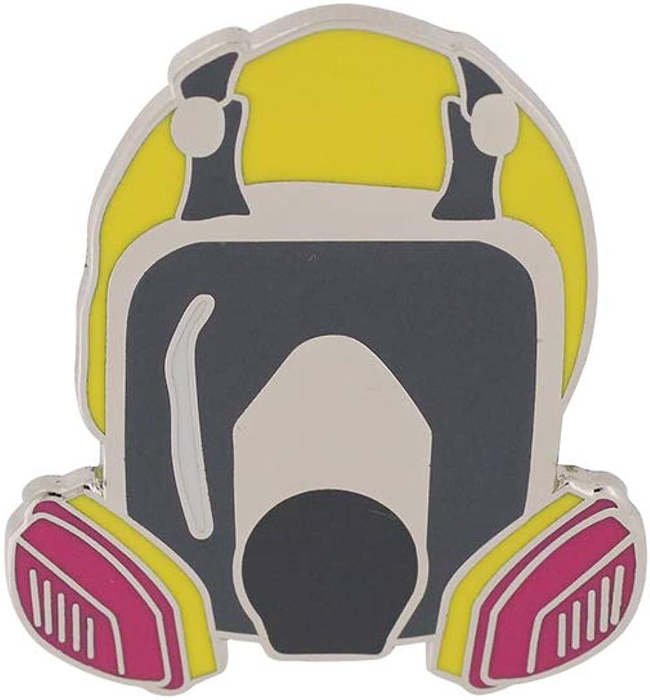 WIZARDPINS Gas Mask No Text TV Series Enamel Pin