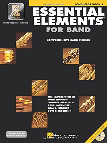 Essential Elements for Band - Conductor Book 1 with EEi ()