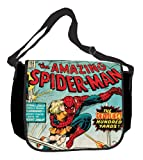 Silver Buffalo MC9001 Marvel Amazing Spider-Man 15-Inch by 12-Inch Messenger Bag, Multi-Color