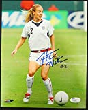 Heather Mitts USA USWNT Soccer Autographed/Signed 8x10 Photo JSA P31963