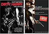 Clint Eastwood Collection Western + The Dirty Harry Complete Series Enforcer / Gauntlet / Deadpool / Magnum Force / Sudden Impact / Two Mules / Joe Kidd / high plains drifter / 8 Movie DVD Set