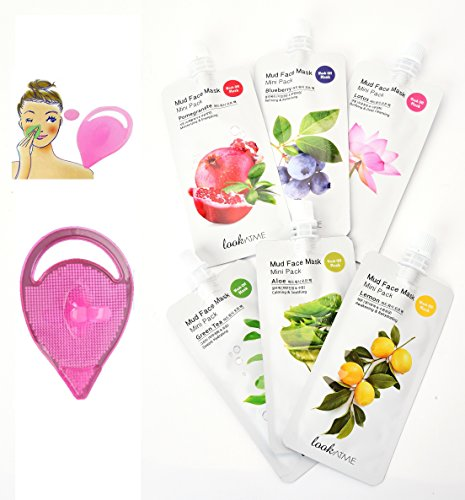 Korean Natural Mud Face Mask with Kaolin, Collagen and Fruit