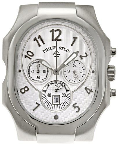 Philip Stein Men's 23-NW Classic Chronograph Natural Frequency Technology Chip Watch
