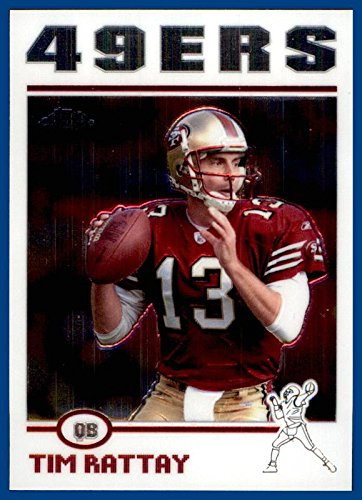 2004 Topps Chrome #53 Tim Rattay SAN FRANCISCO 49ers LOUISIANA (San Francisco Halloween Stores)