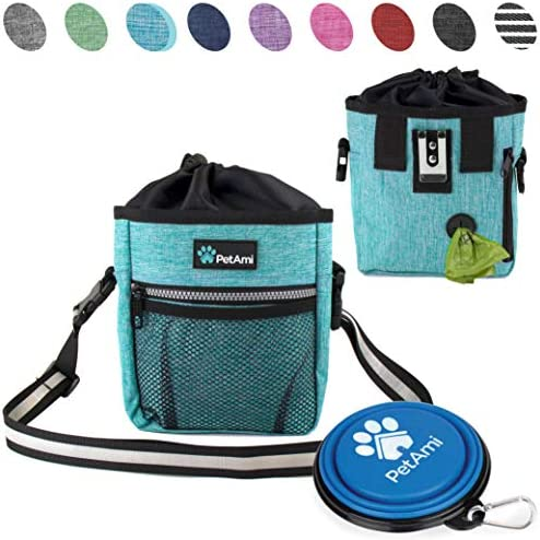 PetAmi Training Dispenser Collapsible Turquoise product image