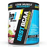 BPI Sports Best BCAA Shredded Caffeine Free Thermogenic Recovery Formula for Lean Muscle