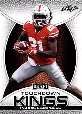 newest 205ac 5e102 Amazon.com: 2019 Leaf Draft Football RC Rookie Card #85 ...