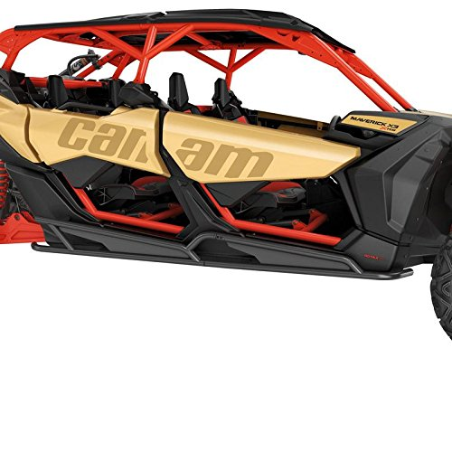 Can Am Maverick X3 MAX Rock Sliders (black)