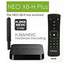 MINIX NEO X8-H Plus Android 4.4 Smart TV Box Mini PC Amlogic S812-H Quad Core Dual Band Wifi With A2 Lite Wireless Keyboard