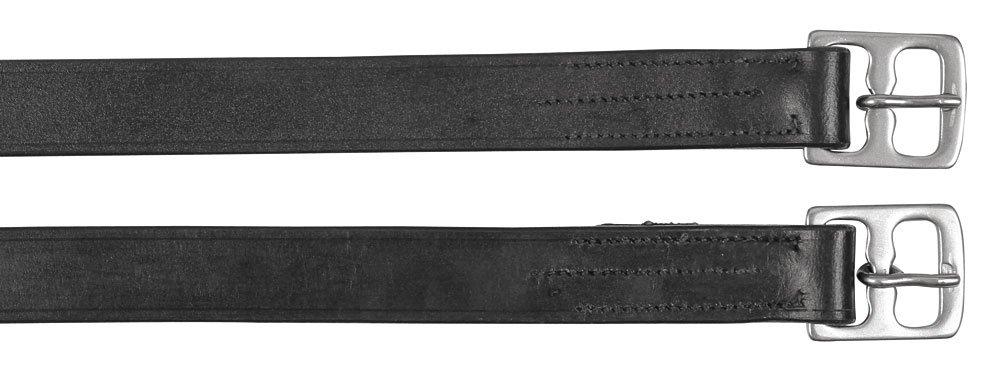 145 cm schwarz Kerbl 32347//1 Steigbügelriemen verpackt