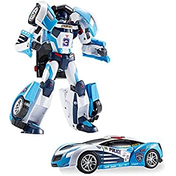 Amazon.com: Tobot Athlon Tornado Toy Robot Transforming