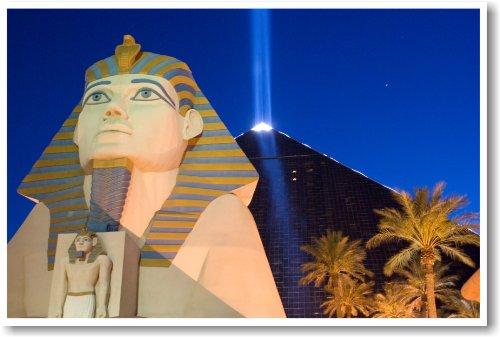 Luxor Hotel Las Vegas Nevada - NEW Travel Poster