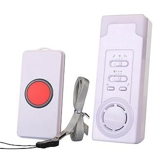 EgoEra® Hogar Sistema de Alarma Inalambrico para Casa, Timbre Inalámbrico/Alarma Inalámbrica per Anziani e Paziente (1 in 1)