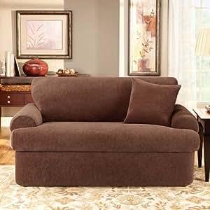 Amazon.com - Sure Fit Stretch Stripe 1-Piece Recliner ...  |Amazon Sure Fit Slipcovers