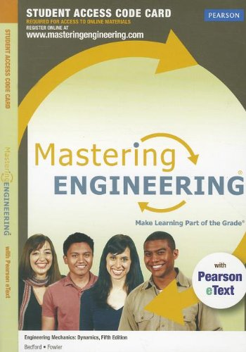 MasteringEngineering with Pearson eText -- Access Card -- for Engineering Mechanics: Dynamics