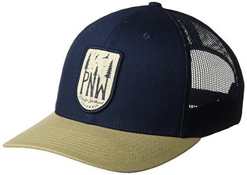 - Columbia Men's Mesh Snap Back Hat, Collegiate Navy PNW Patch, O/S
