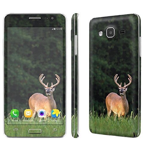 Galaxy [On5] Skin [NakedShield] Scratch Guard Vinyl Skin Decal [Full Body Edge] [Matching WallPaper] - [Deer Hunting] for Samsung Galaxy [O5] [On5]