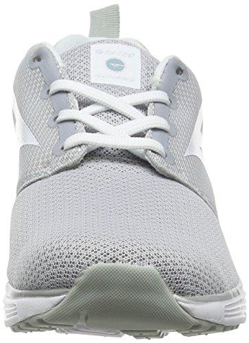 Hi-Tec Pajo Life - Zapatillas Deportivas para Interior Mujer Gris (Silver/Sprout/White 051)