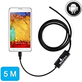 BlueFire 5M Android OTG Endoscope 7mm Mini Waterproof Borescope Inspection Tube Pipe Camera for Samsung Galaxy S5 S6 Note 2 3 4 5