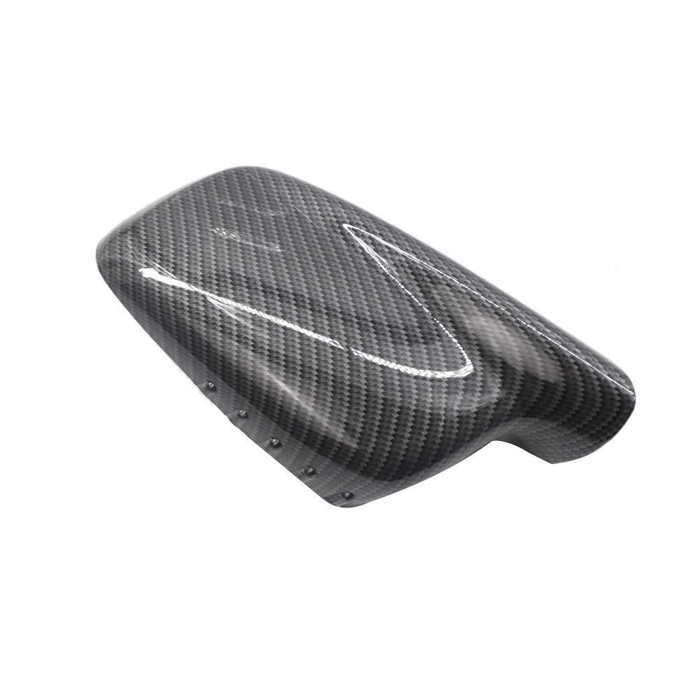 TOOGOO Carbon Fiber New Door Mirror Cover Cap Case 51167074236 51 16 7 074 236 For 3 7 Series E46 E65 E66 330Ci 745I 750I 750Li 760Li
