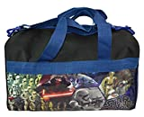 Stars Wars The Force Awakens Duffle Bag Featuring Storm Troopers, Kylo Ren, R2 D2, & C3PO 16 x 10 Inches
