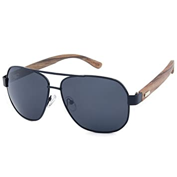 Ppy778 Gafas de Sol de Aviador polarizadas para Hombres ...