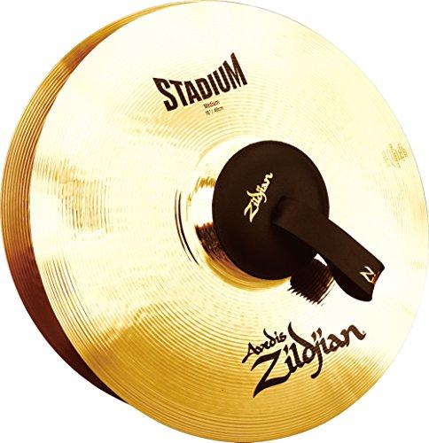 Zildjian A0468 16-Inch Orchestral Cymbals Stadium Series Medium Pair (Orchestral Cymbal Medium)