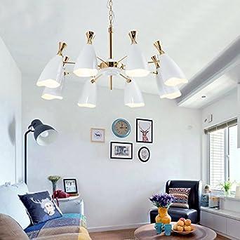 DKSJ Nach A Entzückend Duke Nordic Modern Schlafzimmer Designer Villa  Wohnzimmer Esszimmer Kronleuchter Direkt