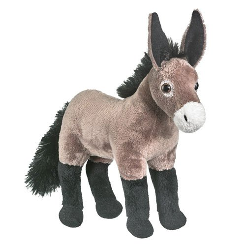 Dominic the Donkey with Sound Plush Stuffed Animal Toy by